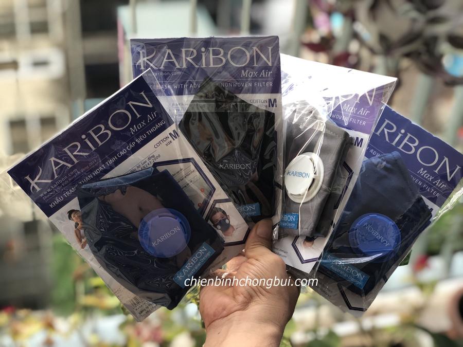 khẩu trang Karibon